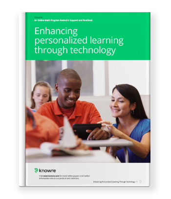 Enhancing Personalized Learning Through Technology White Paper