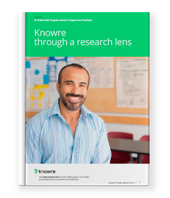 Knowre Through a Research Lens White Paper