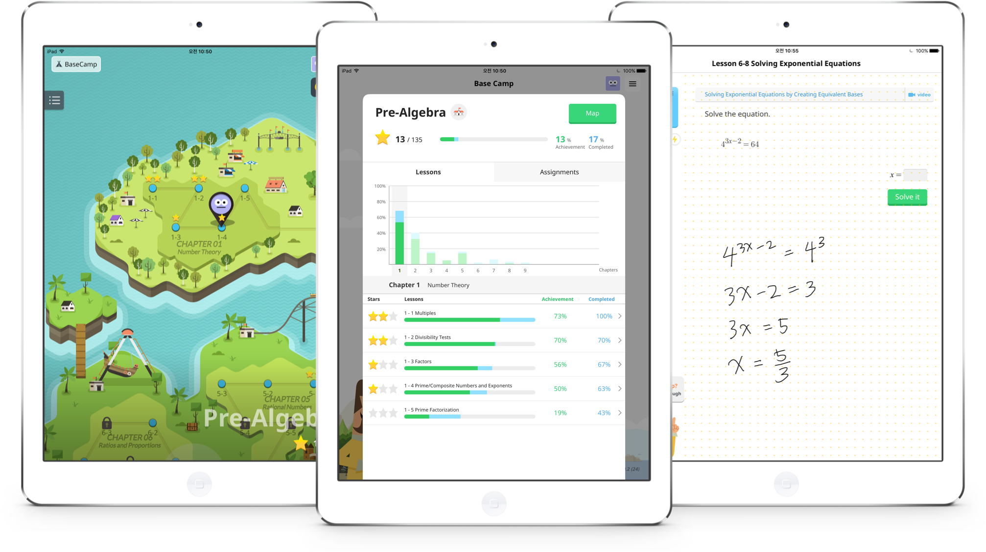 iPads Examples Knowre Math