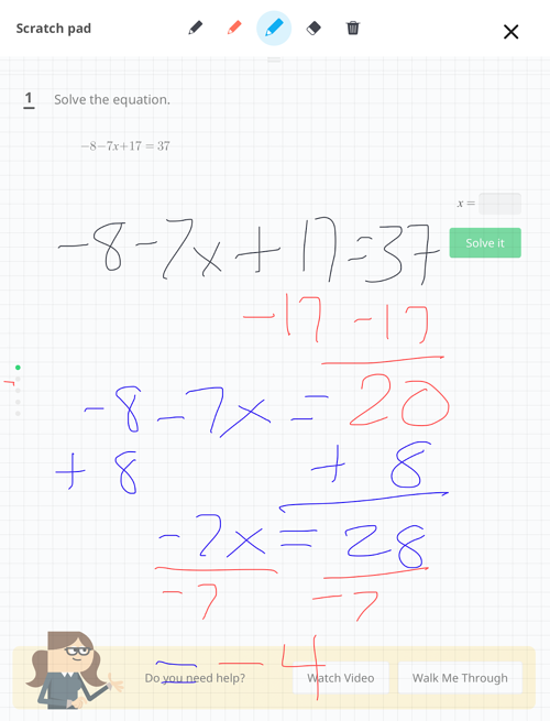 Knowre Math iPad
